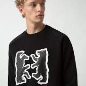 Hugo Boss Bear Motif Sweatshirt Large